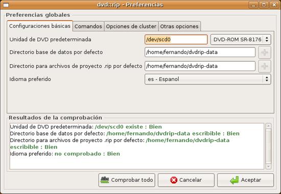 dvd::rip (Ubuntu)