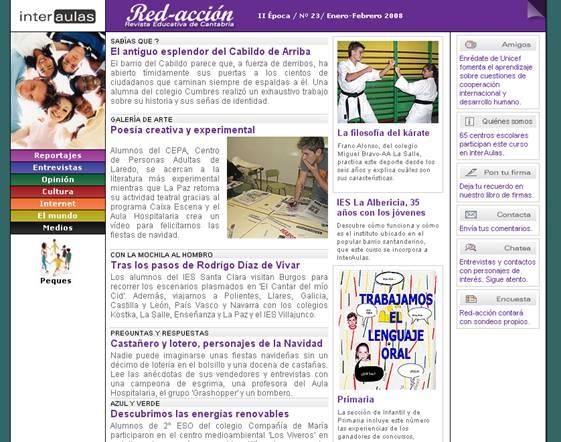 Prensa digital en el aula for Proyecto para una cantina escolar