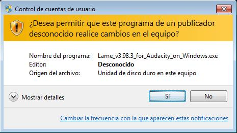 Lame v3 98. 2 for audacity on windows exe misterxilus.
