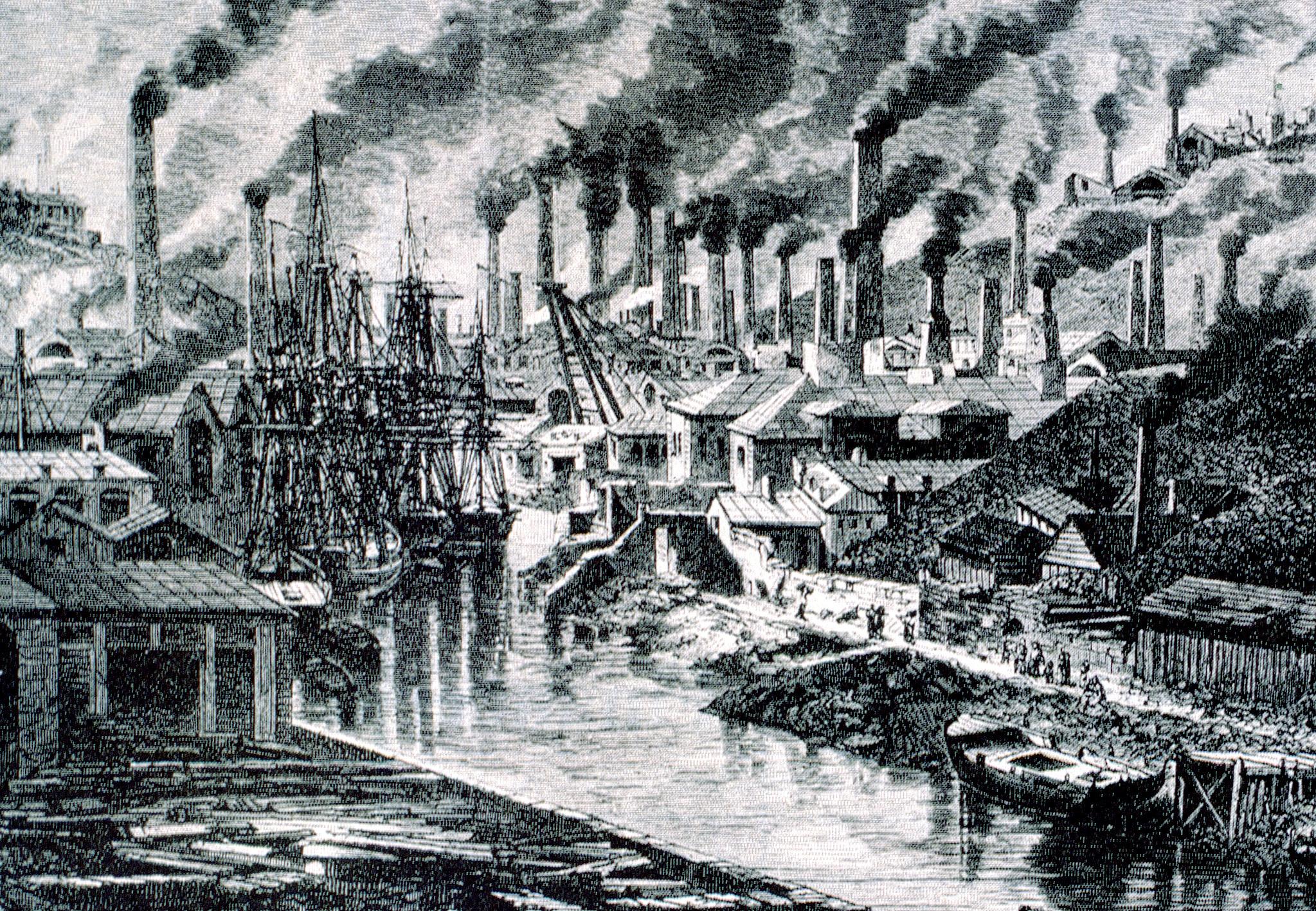La primera revolucion industrial factores de la for Diseno de interiores siglo xix