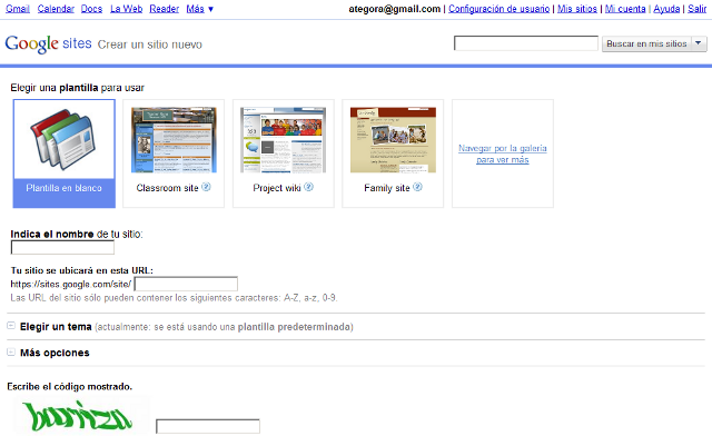 Creaci n de un sitio web tic en el rea de lenguas Crear website