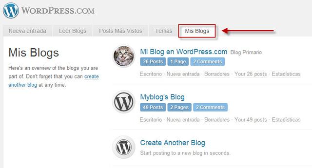 Crear un blog en Wordpress | Multimedia y Web 2.0
