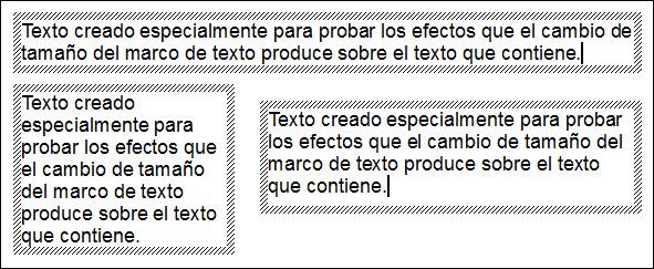 Cambio de tamaño | Diseño de Presentaciones en la Enseñanza (OpenOffice)