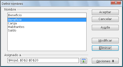 Rango de celdas   Diseño de Presentaciones en la Enseñanza (OpenOffice)