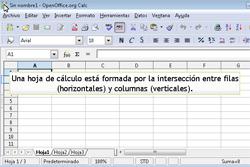 Partes de una hoja de cálculo | TIC en Educación Primaria