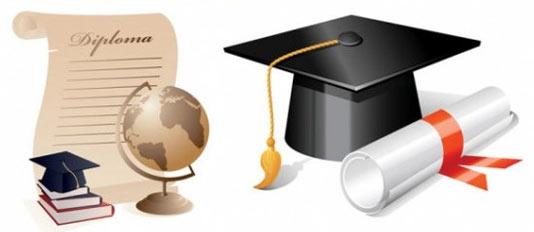 Birrete con diploma - Imagui