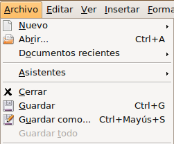 Abrir Crear Y Guardar Documentos