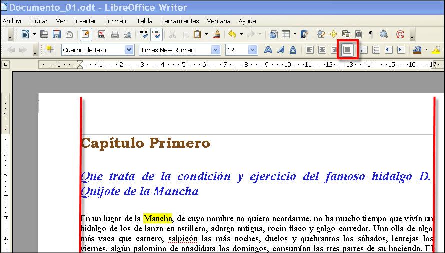 La alineaci n del p rrafo procesador de textos en la for En word cual es el interlineado