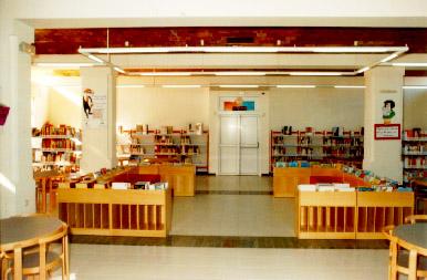 El rinc n de infantil bibliotecas escolares - Estanterias de pared infantiles ...