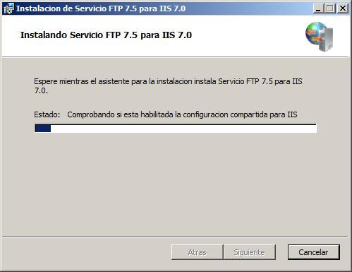 instalacion servidor ftp: