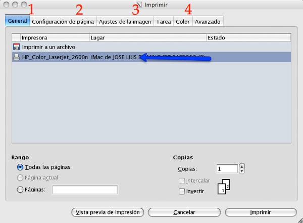 Imprimir | GIMP, aplicaciones didácticas