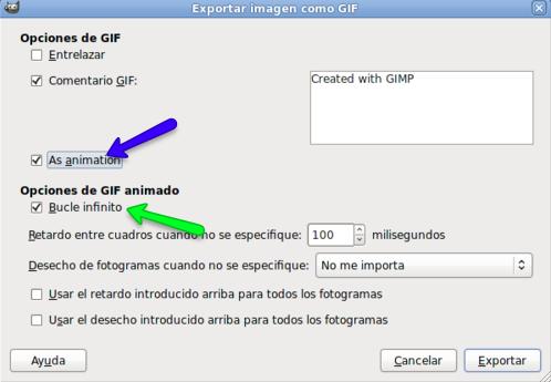 Animación | GIMP, aplicaciones didácticas