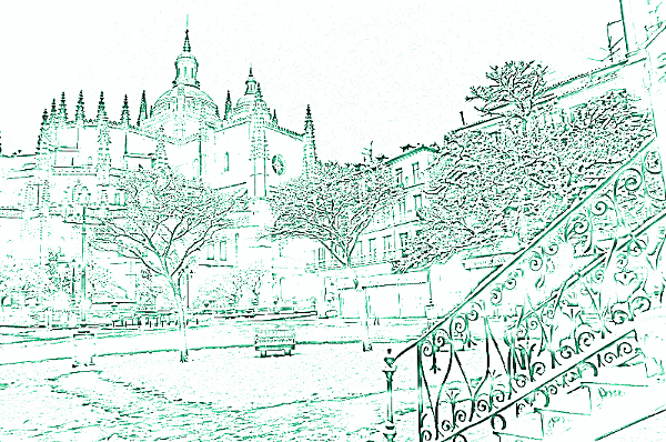 De foto a dibujo  GIMP aplicaciones didcticas